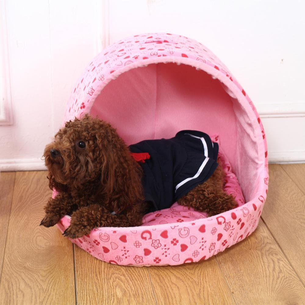 A Large A Large Weiwei Dog's Nest can be Washed and Washed in Autumn and Winter Warm pet Litter Bed