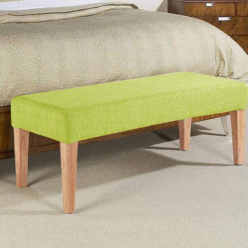 Stools Cjc Footstools Bed End Mid Century Modern Fabric Tufted Top Bench Ottoman Color Green Size 100x40x40ccm Amazon Co Uk Kitchen Home