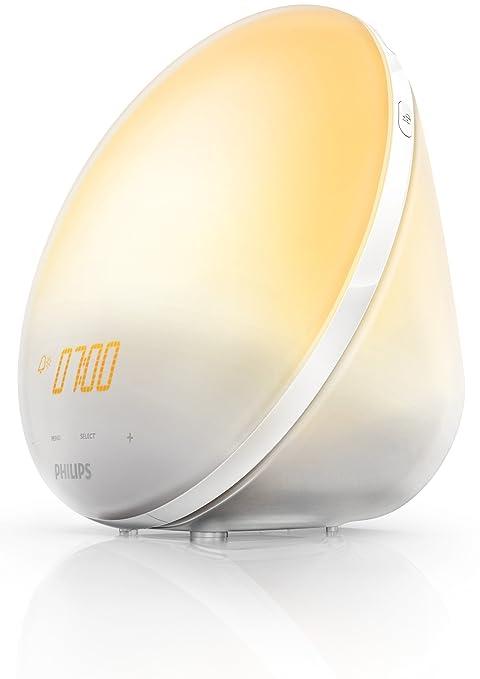 75 opinioni per Philips HF3510/01 Wake-Up Light – Lampada per il risveglio