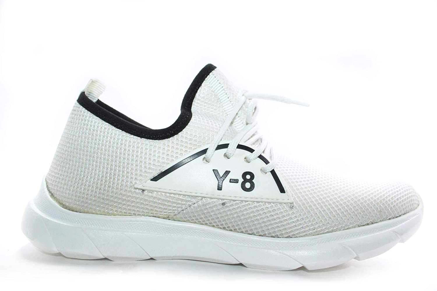 Buy Sports Shoes for Men Y8 (9) White
