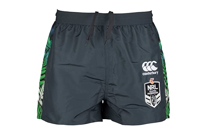 706fd4c9cea743 New Zealand Warriors 9s 2018 Home Alt Rugby Shorts - Assorted - Size ...