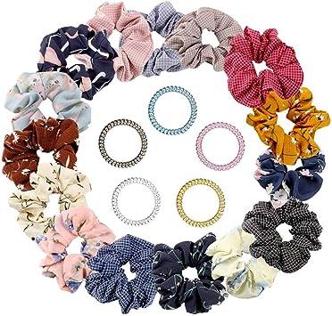 FASCE per i capelli elastici per capelli in tessuto Ragazze Moda Donna Accessori Scuola di tutti i giorni