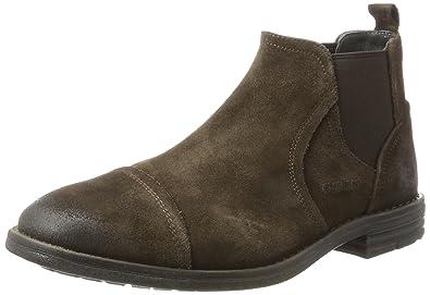 Strellson Benchill Brad Mfe 1, Chelsea Boots Homme, Marron (Dark Brown 702), 42.5 EU