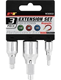 Performance Tool W30932 Magnetic Extension Set, 3 Piece