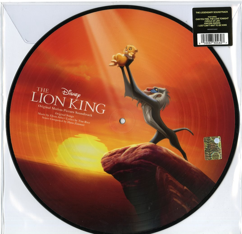 The Lion King [LP][Picture Disc] by VINYL