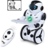 Top Race® Remote Control Toy Robot, Smart Self Balancing Robot, 5 Operating Modes, Dancing, Boxing, Driving, Loading, Gesture. 2.4Ghz Transmitter