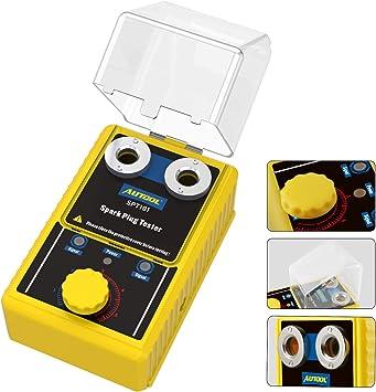 For 12V Car Spark Plug Tester Detector Ignition Plug Analyzer Diagnostic Tool