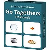 Go Together Flash Cards: 40 Association Language Photo Cards