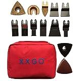 XXGO 72 Pcs Oscillating Tool Blades Accessories