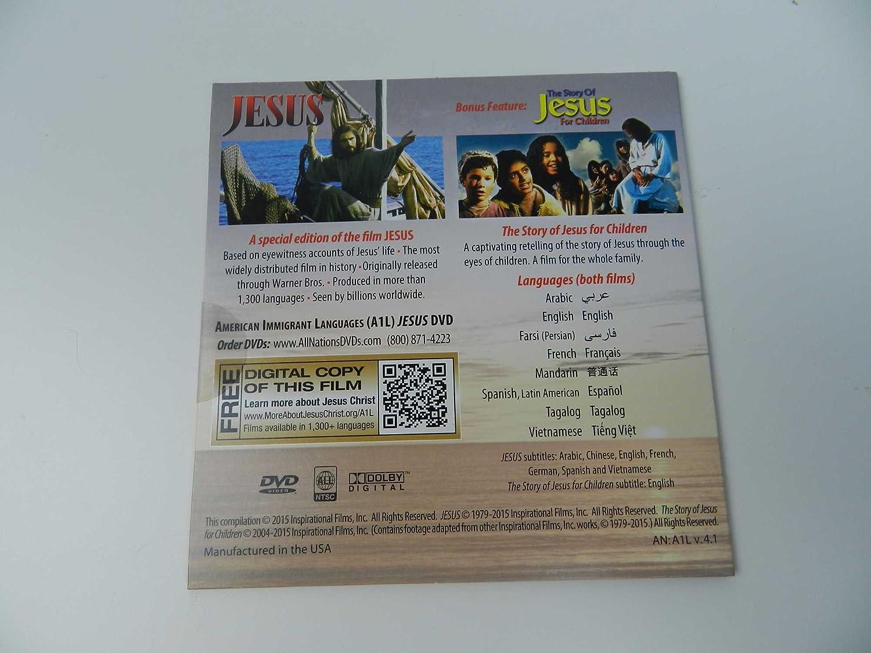 amazon com life of the jesus u2013 special multi language dvd bonus
