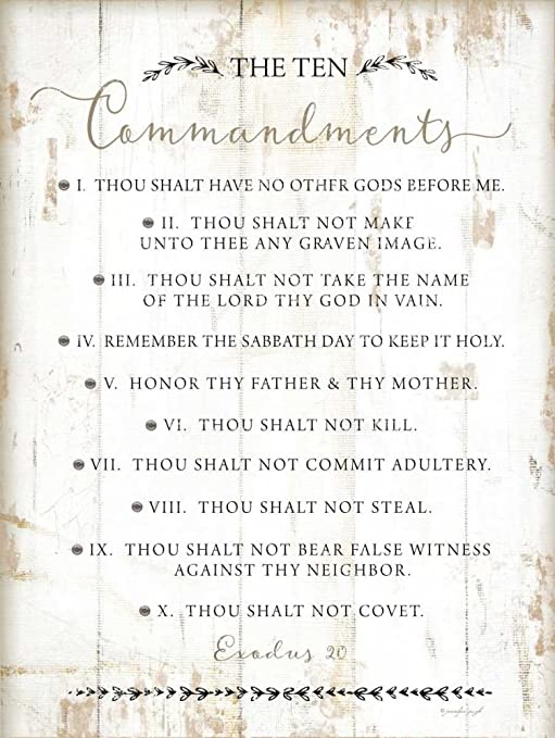 Premium Poster Paper The Ten CommandmentsLARGE 24X36 MOVIE POSTER