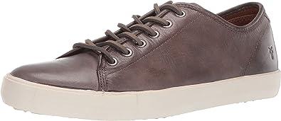 Brett Low Ankle-High Leather Sneaker