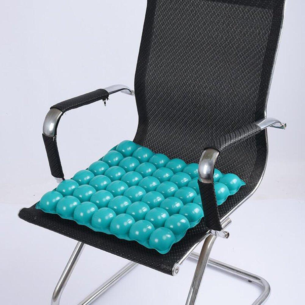 HGCY Cuscino Gonfiabile Anti Decubito Piazza Morbido Confortevole Adatto Prolungata Seduta Persone Verde 43X41cm