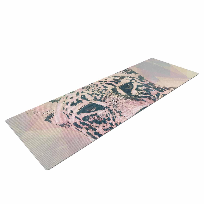 KESS InHouse Suzanne Carter Tawny Pink Black Yoga Mat SC2198AYM01 72 X 24 72 X 24 KESS Global Inc