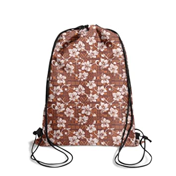 15098a065990 Amazon.com | Fashion Classic reusable Drawstring Bag -Tribal vintage ...