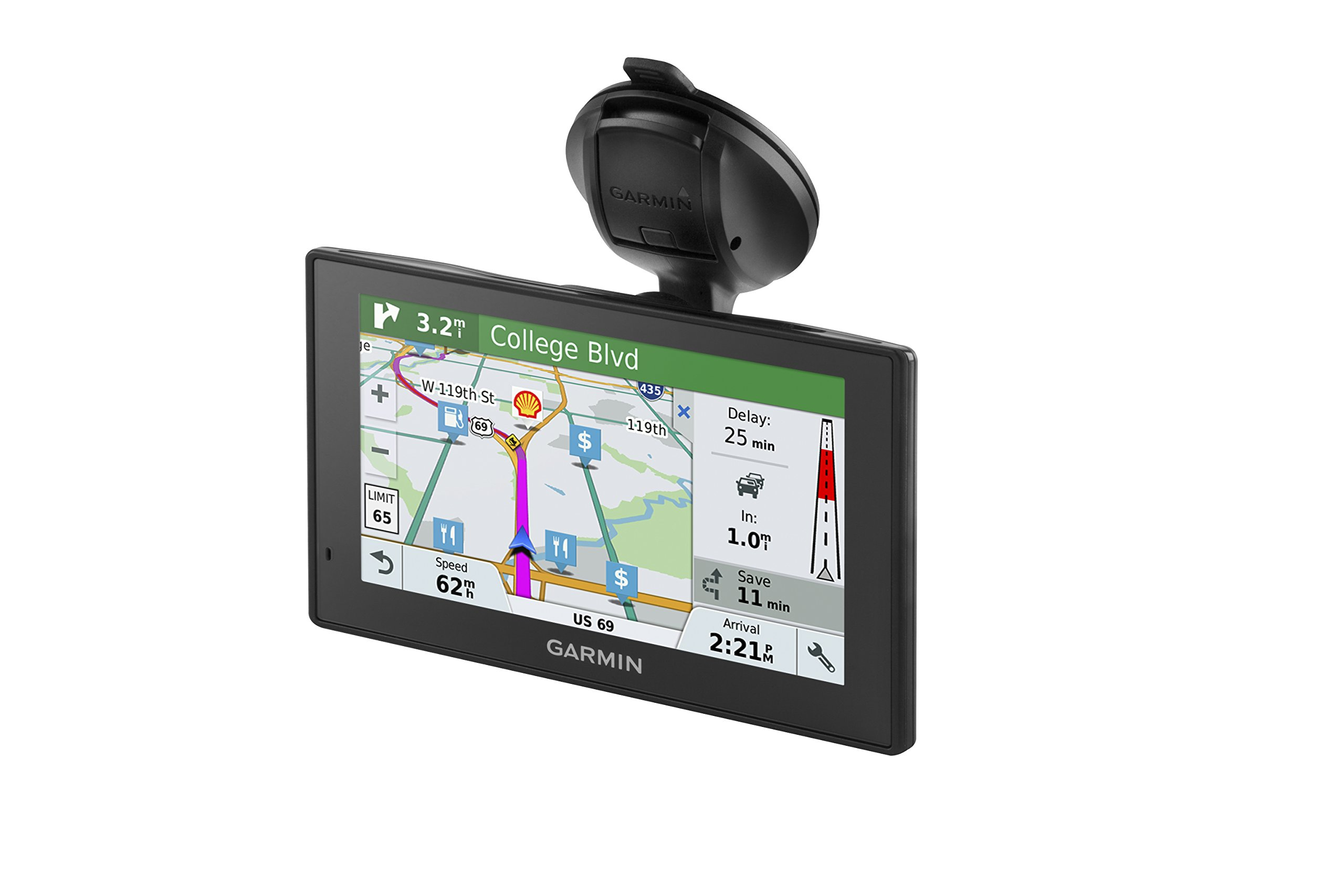 Garmin DriveAssist 51 NA LMT-S w/Lifetime Maps/Traffic, Dash Cam, Camera-assisted Alerts, Lifetime Maps/Traffic,Live Parking, Smart Notifications, Voice Activation by Garmin (Image #4)