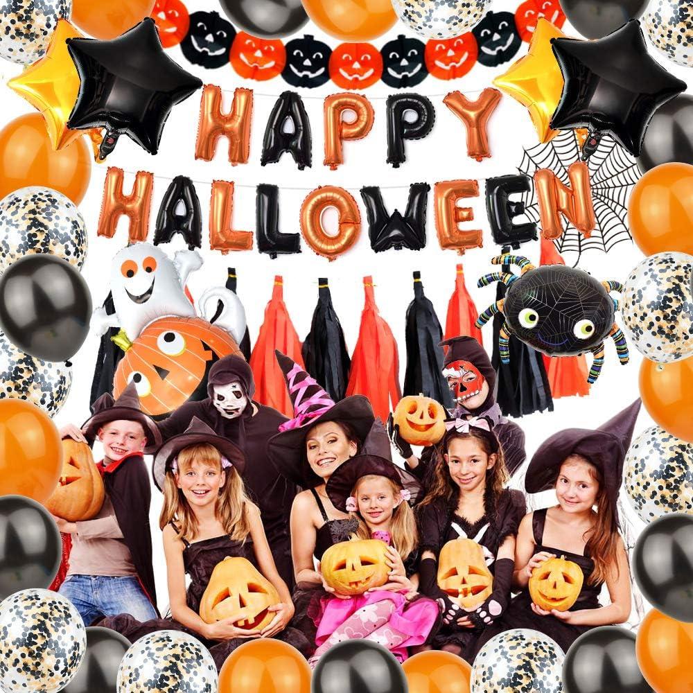 Great for Home Indoor Work Kids Halloween Party Decorations Halloween Balloons Party Decorations