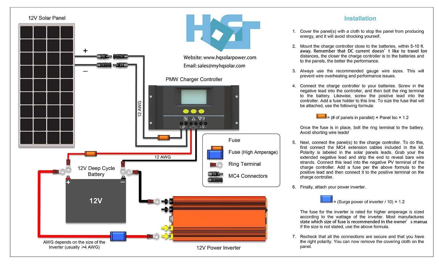 12 Volt Solar Panel Wiring Diagram Likewise Generator Size Basic U2022 Rh Rnetcomputer Co