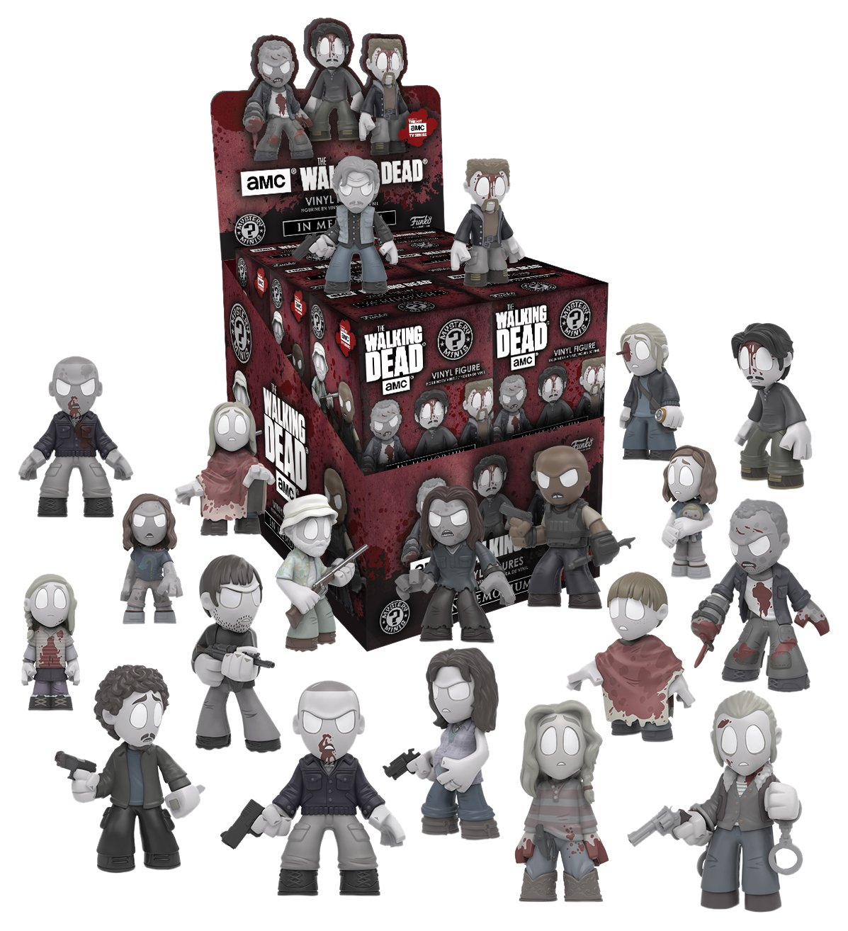 Funko Mystery Mini Walking Dead In Memoriam One Mystery Action Figure