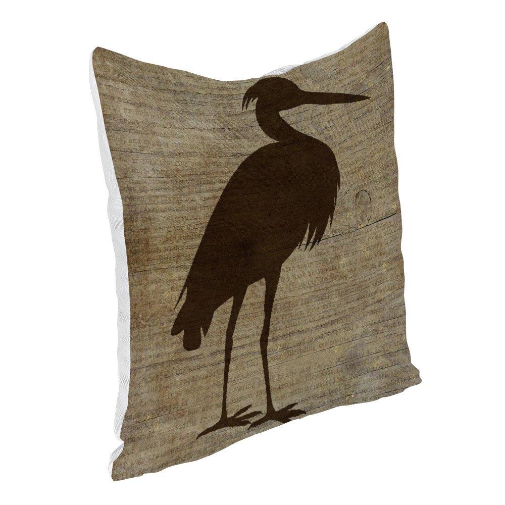 Popeven Funda de Almohada rústica con diseño de pájaros para ...