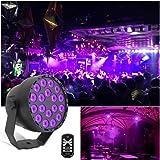 UV Led Par Stage lights, uvlight 18 x 3W