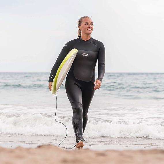 Osprey Womens Full Length 5 mm Winter Wetsuit Adult Neoprene Surfing Diving Wetsuit