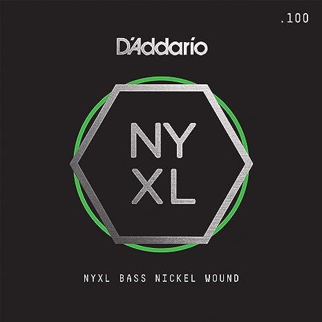 D Addario nyxlb100sl NYXL .100 Super escala larga Nickel Wound Guitarra cuerda