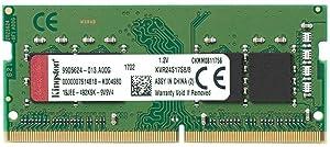 Kingston Technology ValueRAM 8GB 2400Mhz DDR4 Non-ECC CL17 SODIMM 1Rx8 (KVR24S17S8/8)