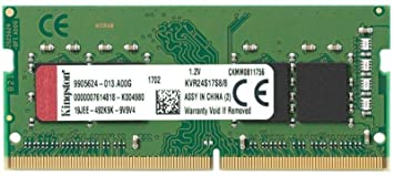Kingston Technology Valueram 8gb 2400mhz Ddr4 Non Ecc Cl17 Sodimm