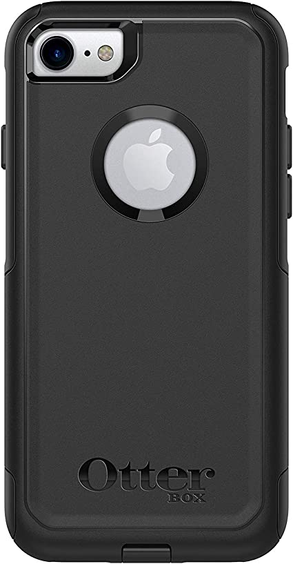 OtterBox Commuter for Apple iPhone Purple White Black Repeating Hearts - Custom Monogram Any Colors Choose Model