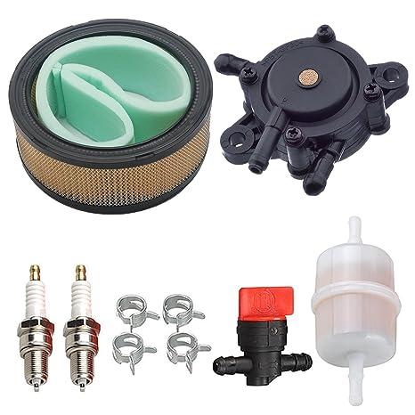 OxoxO Reemplaza el filtro de aire limpiador de combustible bujía, válvula de apagado de combustible 24 ...
