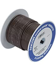Ancor 184203 Marine Grade Electrical Primary Tinned Copper Boat Wiring (14-Gauge, Brown, 18-Feet)