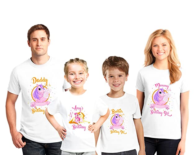 Image Unavailable Not Available For Color Personalized Family Birthday Shirts Princess