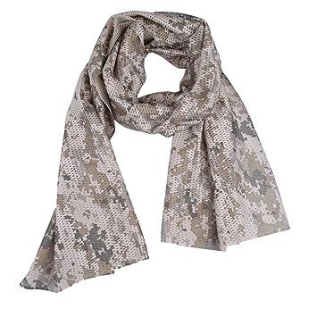 Écharpe en maille aérée Broadroot style camouflage, multifonction, foulard  pour le cou, bandeau d0bc1e7be83