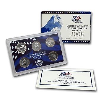2008 D Hawaii Alaska Oklahoma Arizona New Mexico Statehood Quarter Mint Set