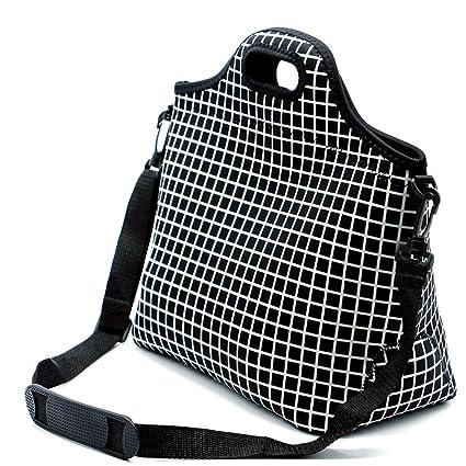 Case Wonder Lunch Bags, Bolsa de almuerzo Neoprene, Bolsa de almuerzo grande aislada, Caja de almuerzo lavable reutilizable para hombres / mujeres / ...