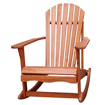 Amazoncom International Concepts Adirondack Rocker Chair Patio