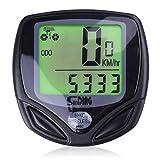 Bike Computer, Wireless Bike Accessories Automatic Wake-up Cycling Speedometer Waterproof