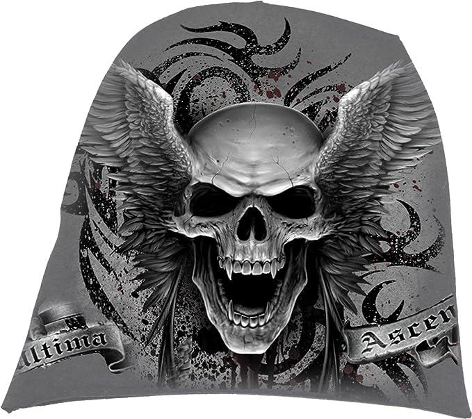 Light Cotton Beanie Black Spiral Death Roar