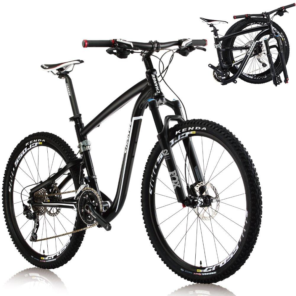 Change 26インチ軽量フルサイズ MTB折りたたみ自転車 シマノ Deore 30スピード DF-612BF B071R2QGZV19\