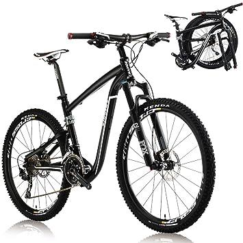 "Change la bici plegable de 26 ""de tamaño ligero de montaña Shimano Deore 30"