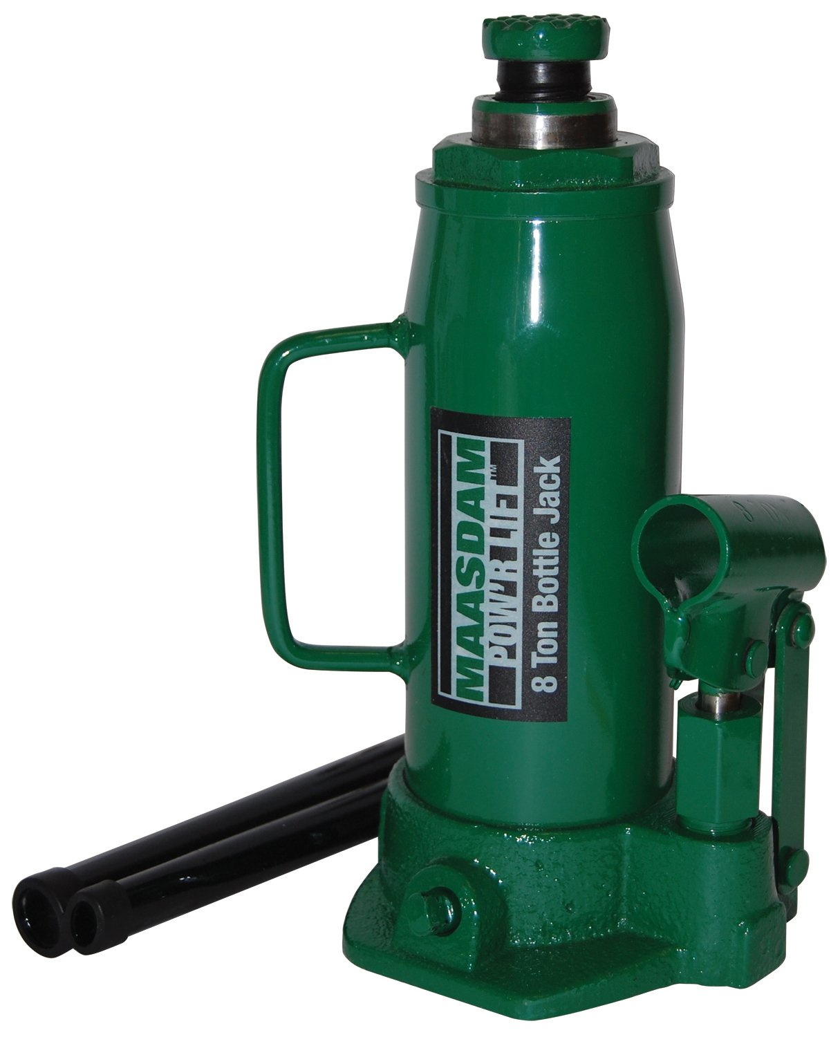 Maasdam MPL8B Bottle Jack, 8 Ton, Green