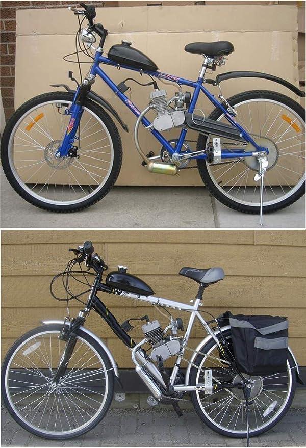 Juego Completo De Motor De Bicicleta De Motor De Gasolina De Gasolina 80CC Motorizado De 2 Tiempos, Juego De Motor Para Bicicleta Motorizada: Amazon.es: Coche y moto
