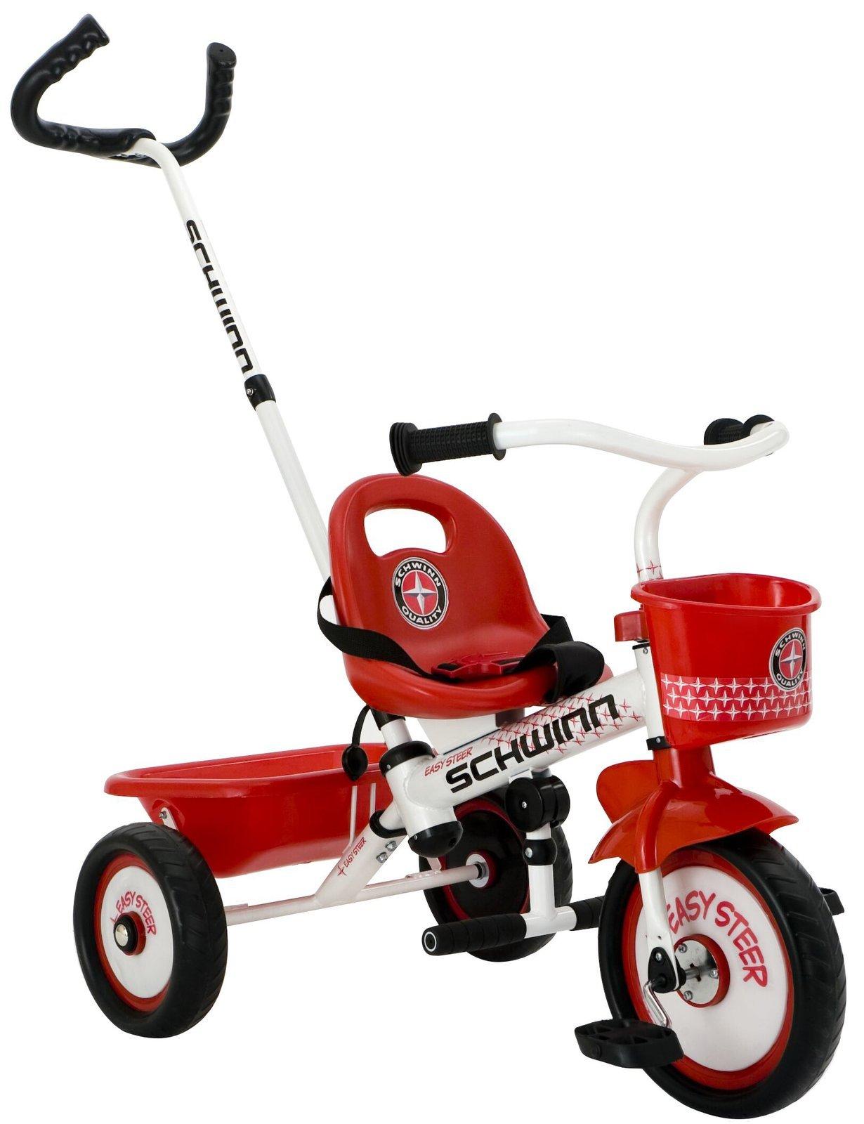Schwinn Easy-Steer Parental Control Trike ~ Special Needs RED