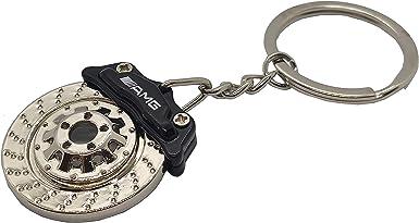 Schlüsselanhänger Typ Bremsscheibe Kompatibel Mit Amg Farbe Schwarz Bekleidung