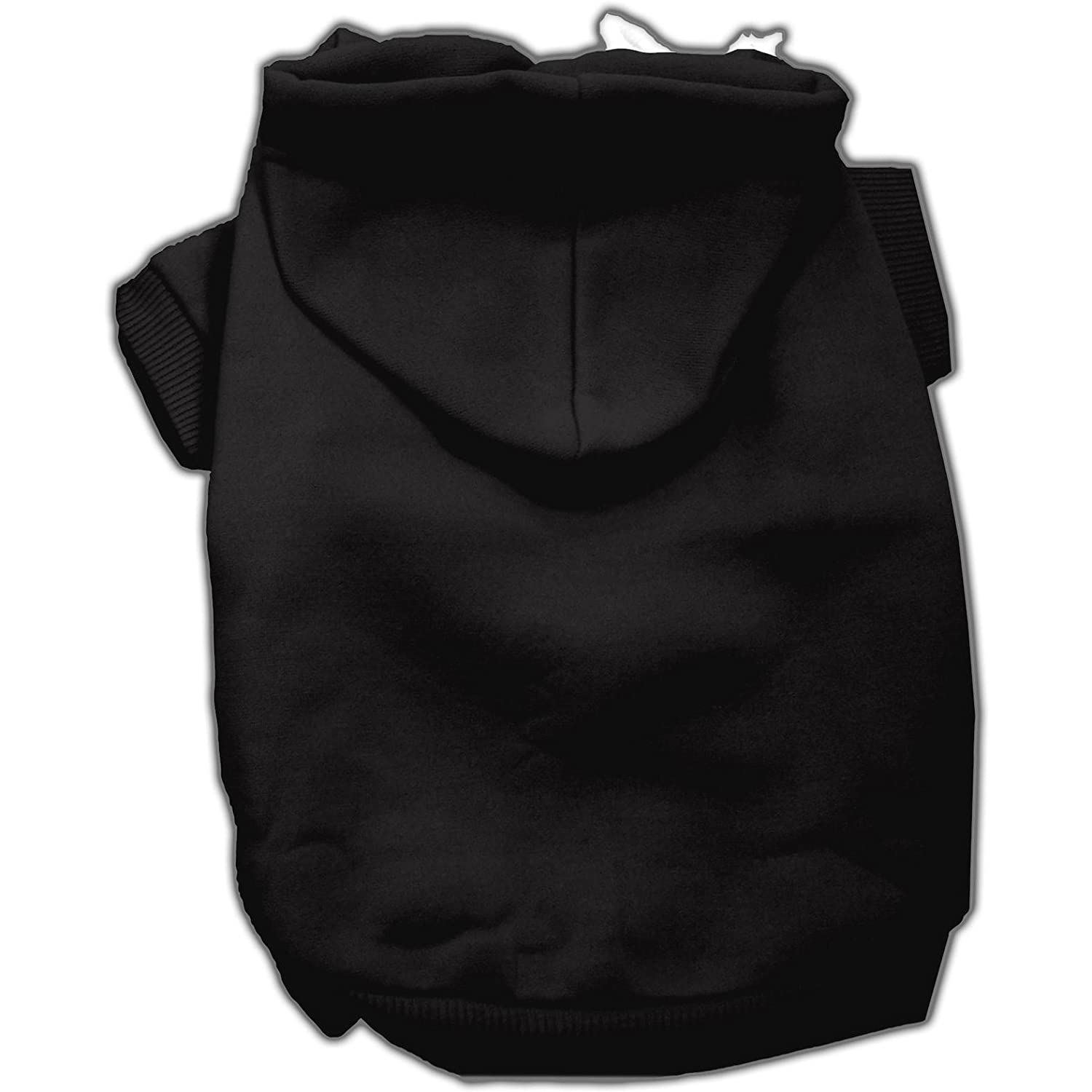 Mirage Pet Products 18-Inch Blank Hoodies, XX-Large, Black