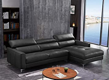Enjoyable Funrelax Sectional Corner Sofa Modern Leather L Shape Couch Home Interior And Landscaping Spoatsignezvosmurscom