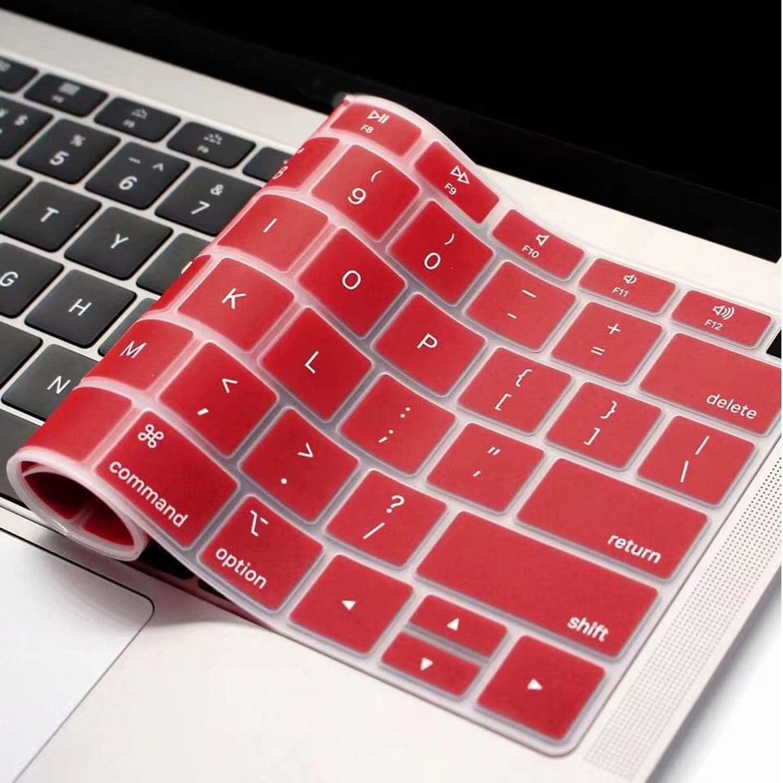 EU US for MacBook Pro 13 15 Retina Keyboard CoverEnglish Letter Cover for MacBook Retina 13 15 Keyboard Film Skin,US Gold
