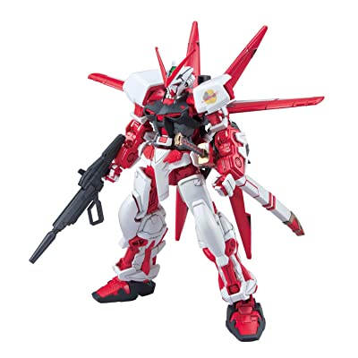 Hg 1/144 Gundam Astray Red Frame (Flight Unit): Toys & Games