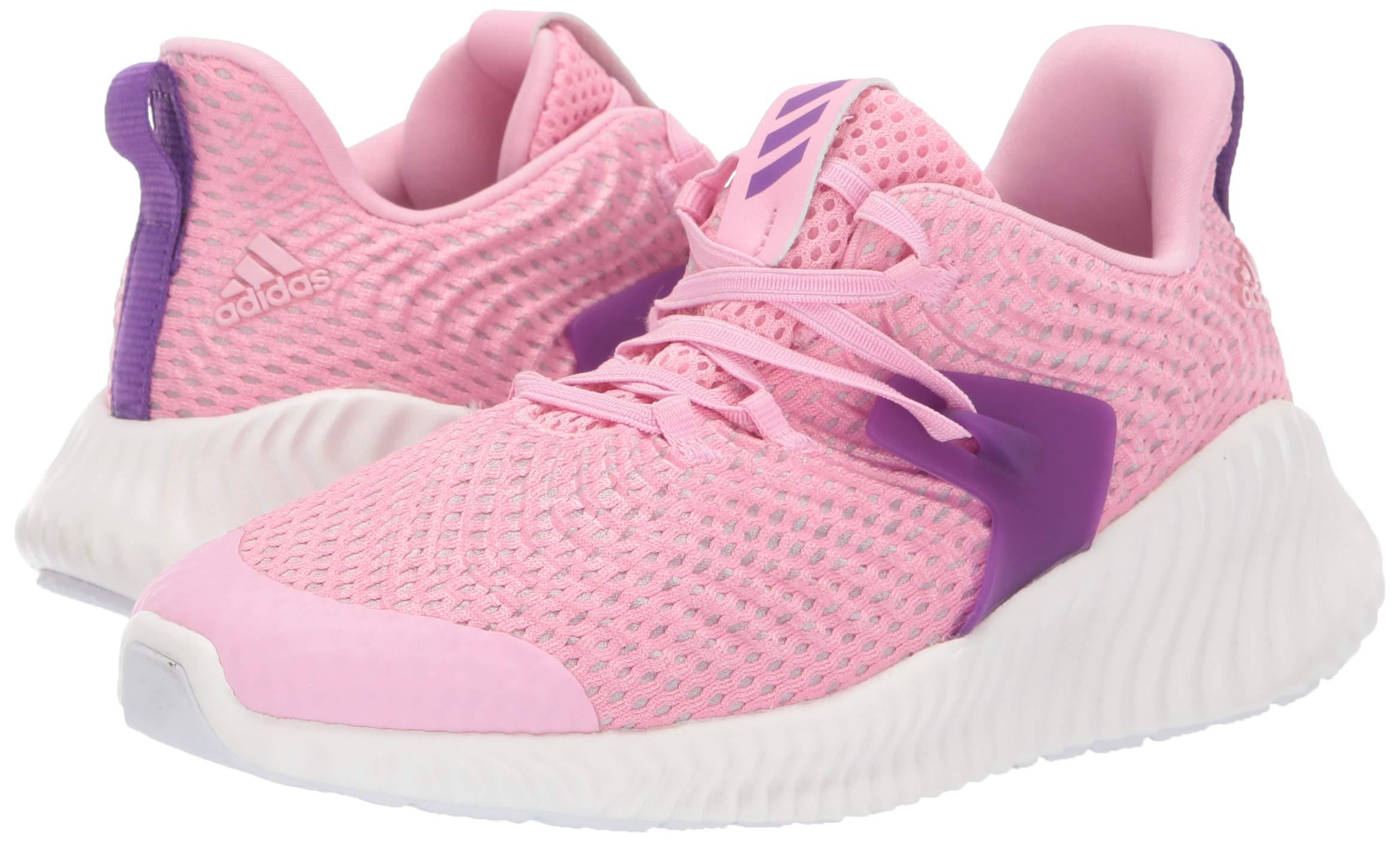 Adidas Kids Alphabounce Instinct, true pink/active purple/cloud white 2.5 M US Little Kid by adidas (Image #6)